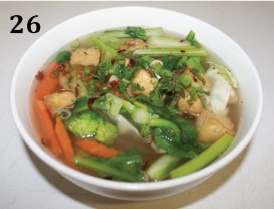 Phở  Vegetables