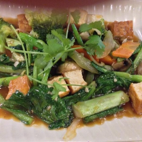 Marinated Fried-Tofu