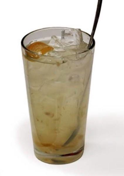Salted Lemon with Soda