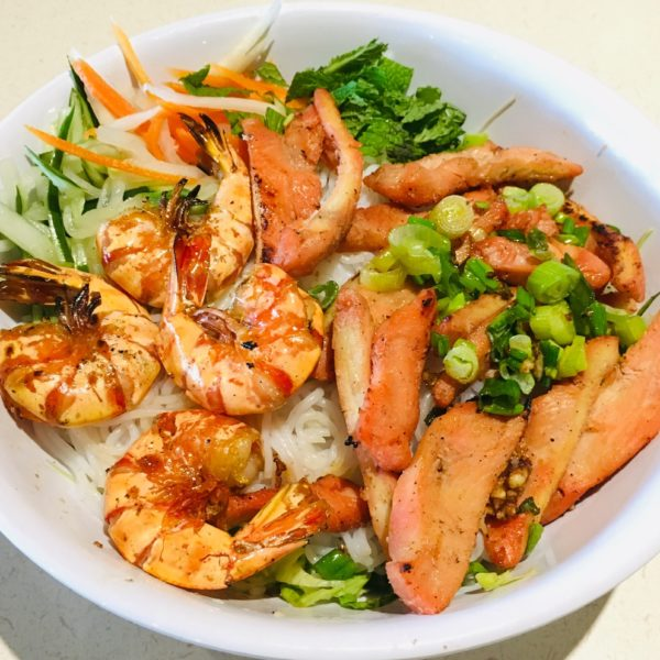 #39C Shrimp and Chicken Vermicelli